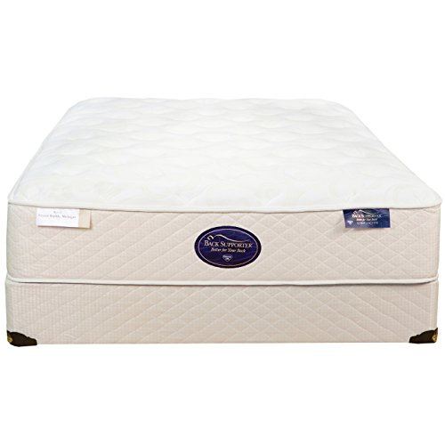 Spring Air Twin Back Supporter Latex Simplicity Plush Mattress