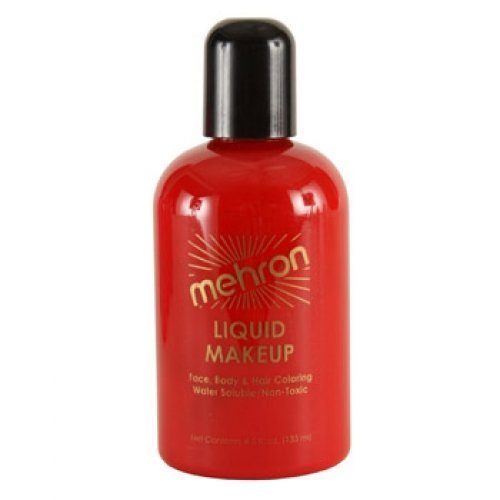 Mehron Liquid Face Paints - Red R (4.5 oz)