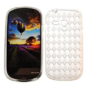 Unlimited Cellular Deluxe Silicone Skin Case for Samsung Galaxy S3 Mini (Trans. Clear)