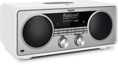 TechniSat Digitradio 601 Stereo internetradio (DAB+, FM, subwoofer, afstandsbediening, cd-speler, USB, Bluetooth…