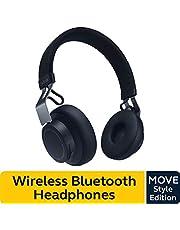 Jabra Move Style Edition, Navy Wireless Bluetooth Music Headphones