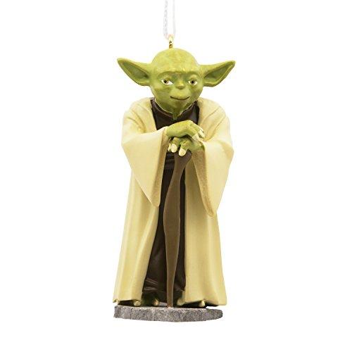 (Hallmark Christmas Ornament Star Wars Yoda)
