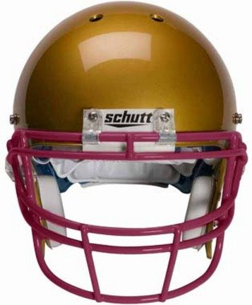 Schutt Maroon Reinforced Oral Protection (ROPO) Full Cage Football Helmet Face Guard from