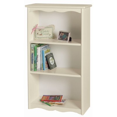"Traditional Child's 40"" Bookcase Finish: Linen MDF - One of our most popular pieces, our Traditional Bookcase fits in almost any room of the house. Shelves are thoughtfully spaced to accommodate large children's books. Includes tip-over protector hardware. Available in natural, espresso, honey oak, white, linen, pink, lavender, and unfinished. - living-room-furniture, living-room, bookcases-bookshelves - 41QrZVovF9L. SS400  -"