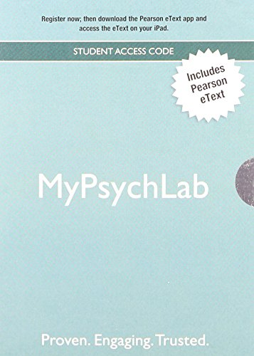 Psychology with DSM-5 Update plus NEW MyPsychLab with Pearson eText -- Access Card Package (3rd Edition)