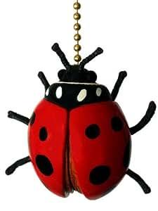 Ladybug Ceiling Fan Light Pull