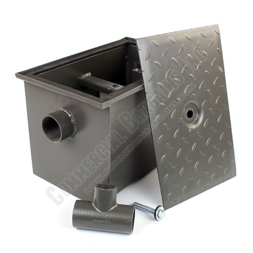 WentWorth 8 Pound Grease Trap Interceptor 4 GPM Gallons Per Minute WP-GT-4 by Wentworth