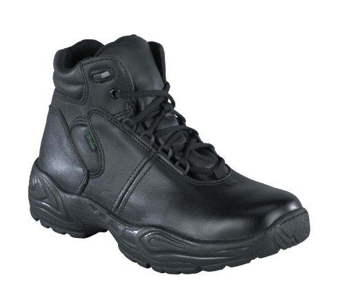 Reebok Womens Black Leather Work Boots Postal Express Chukka 12 M (Reebok Chukka Shoes)
