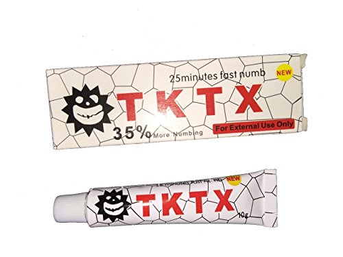 10 tubes of 10g tktx tattoo numbing anaesthetic numb cream for Waxing over tattoo