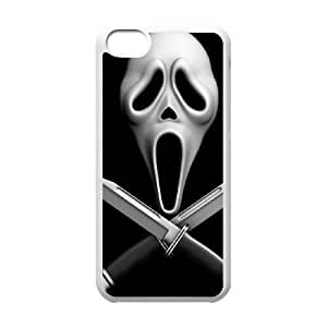 Scream iPhone 5c Cell Phone Case White MNB