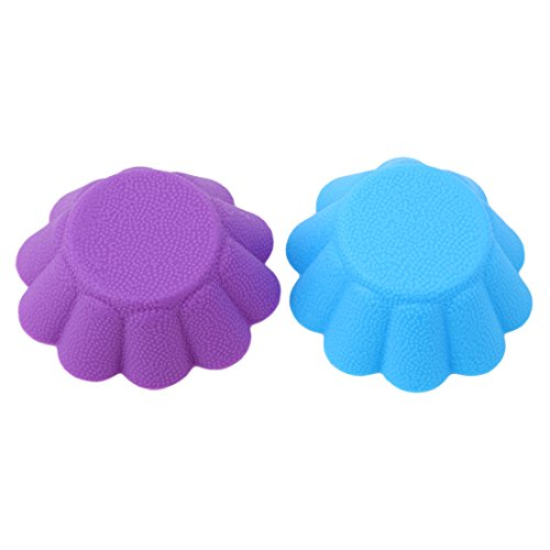 VWH 6Pcs Flower Shaped Silicone Cake Cup Kitchen Tools by VWH (Image #2)