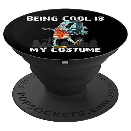 Good Scary Halloween Costume Ideas (Being Cool Is My Costume Halloween Scary Creepy Girl Zombie PopSockets Grip and Stand for Phones and)