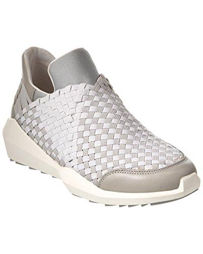 Ash Women's Quartz Fashion Sneaker, Off White/Silver, 35 EU/5 M US
