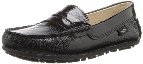 umi  Morie B Penny Uniform Loafer (Little Kid/Big Kid),Black Patent,32 EU(1 M US Little Kid)