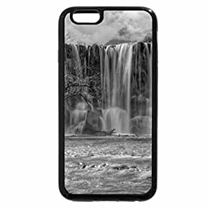 iPhone 6S Case, iPhone 6 Case (Black & White) - gorgeous waterfall in lijiang china