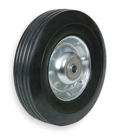 Semi-Pneumatic Wheel, 10 in., 200 lb., Sym ()