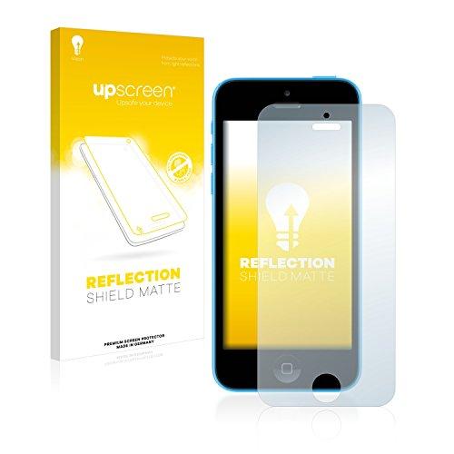 upscreen Scratch Shield Pellicola Protettiva Opaca Apple iPhone 5C Protezione Schermo – Antiriflesso, Anti-Impronte