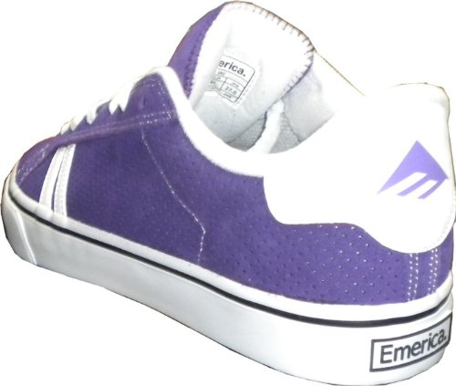 Emerica Shoes Leo Schuhe Purple Skateboard Skater Sneaker Schuhe Sneakers SMU aqXEarw