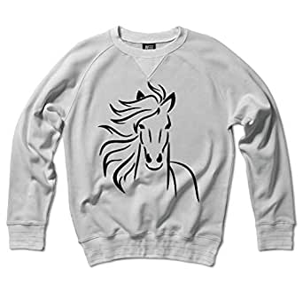 Arabic Horse Embroidery Sweater