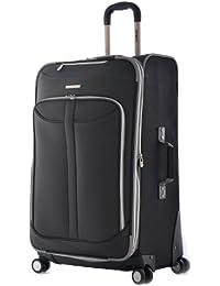 Luggage Tuscany 25 Inch Expandable Vertical Rolling Luggage Case,Black,One Size