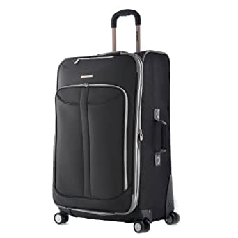 Olympia Luggage  Tuscany 30 Inch Expandable Vertical Rolling Luggage Case,Black,One Size