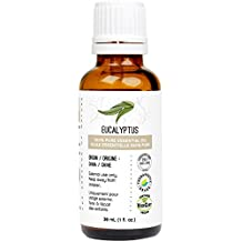 Eucalyptus Essential Oil (Globulus) 30 ml (1 fl. Oz.) - GCMS Tested, 100% Pure, Undiluted and Therapeutic Grade