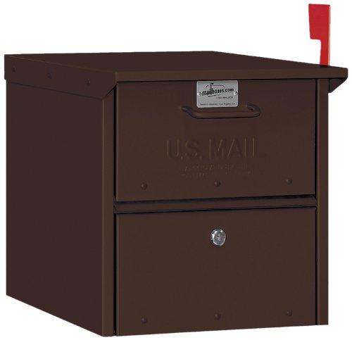 Salsbury Industries 4325D-BRZ Designer Roadside Mailbox, Bronze ()
