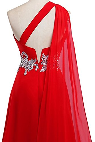 Kleider One Abendkleider Lang Lime Kleider Green Damen Formelle Fanciest Ball Red 2016 Chiffon Shoulder 6qxU4tvw