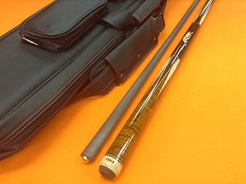 MOLINARI CUE HEO with REVO Shaft & TOP Notch Leather CASE. - Shafts Predator Cues