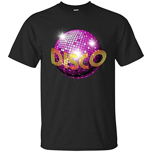 70s Disco Themed Shirt Vintage Party Wear Outfit