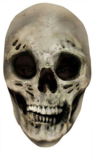 Skull Nylon Full Mask Costume (Halloween 3 Full Movie Michael Myers)