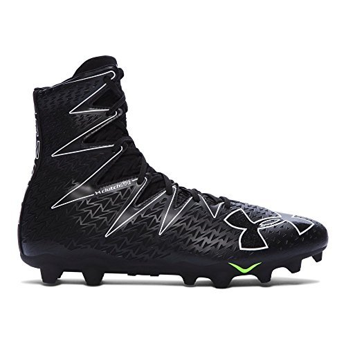 2af0dc2189 Under Armour Men's Highlight MC Football Cleats (9, Black-Black) (Apparel)