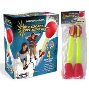 D+L Company Ultra Stomp Rocket Kit with Ultra Rocket Refills