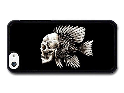 Skull Fish Charles Darwin Evolution Illustration coque pour iPhone 5C