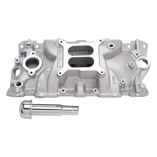 Edelbrock 2703 Performer EPS Intake Manifold with Oil Fill Tube and Breather - Performer Eps Manifold