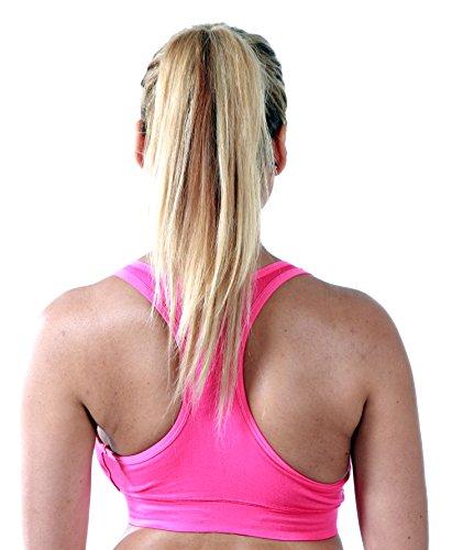 Marielle - Sujetador de lactancia sin costuras, 4 bonitos colores a elegir Hot Pink