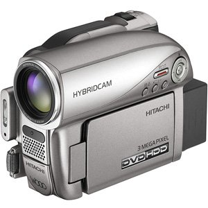 (Hitachi DZHS903A DVD 30GB Camcorder )