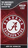 Alabama Crimson Tide 2018-19 17-Month Planner