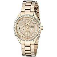 Drive From Citizen Eco-Drive Women's Watch with Crystal Accents and Date, FD1063-57X