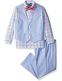 Toddler Boys' Four Piece Vest Set
