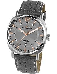 Jacques Lemans Lugano 1-1943E Mens Wristwatch Classic & Simple