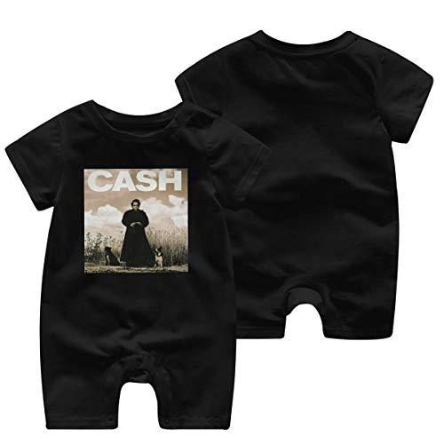 RodneyLRobbins Johnny Cash Personality Black Round Neck