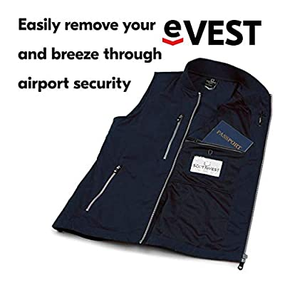 SCOTTeVEST 101 Travel Vest for Women with Pockets - Lightweight Utility Vest at Women's Coats Shop