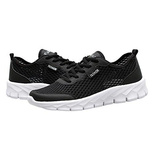 Carissime Sneakers Traspiranti Da Uomo Per Camminare Per Il Nero