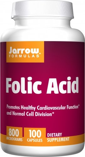 Jarrow Folic Acid (100 Caps) (Multi-Pack) by Jarrow Formulas