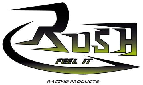 (95-13 HARLEY FLHTCU: Rush Performance Big Louie Slash Down Slip-On Exhaust (Chrome/Slash Down / 2.5
