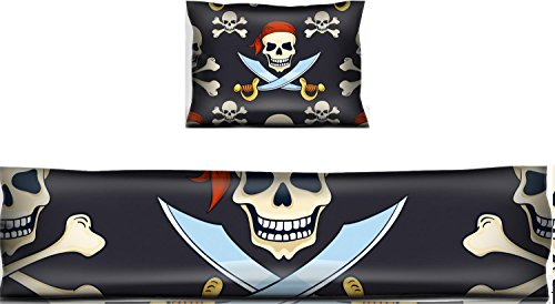 Luxlady Mouse Wrist Rest and Keyboard Pad Set, 2pc Wrist Support IMAGE ID: 34258795 Cartoon vector hand drawn pirate skulls seamless pattern Halloween backg]()