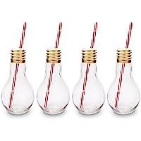 CKB Ltd®–Juego de 4Edison Light Bulb lámpara Vasos