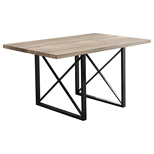 "Monarch Specialties I 1100 Dining Table-36""X 60"" / Dark"
