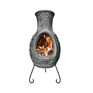 4 Elements Clay Chiminea Earth - Large